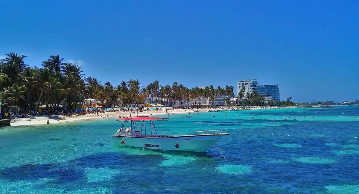 Los viajeros están atentos a los destinos que incluyan mar y playa. Foto: Twitter @jorgeeduardoex1