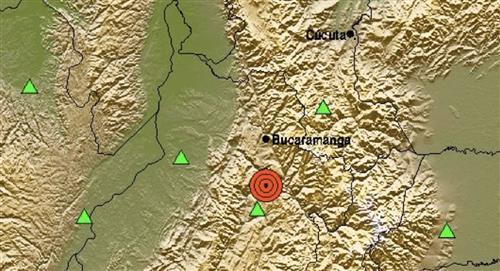 Temblor de magnitud 5.1 se presentó en Santander