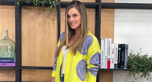 Catalina Gómez recordó su época como modelo y le llovieron elogios