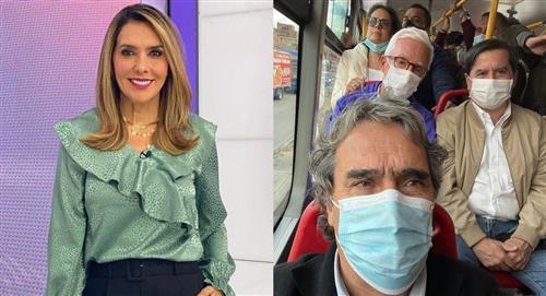 """""""No les creo"""": Mónica Rodríguez critica a políticos que montaron en TransMilenio"""
