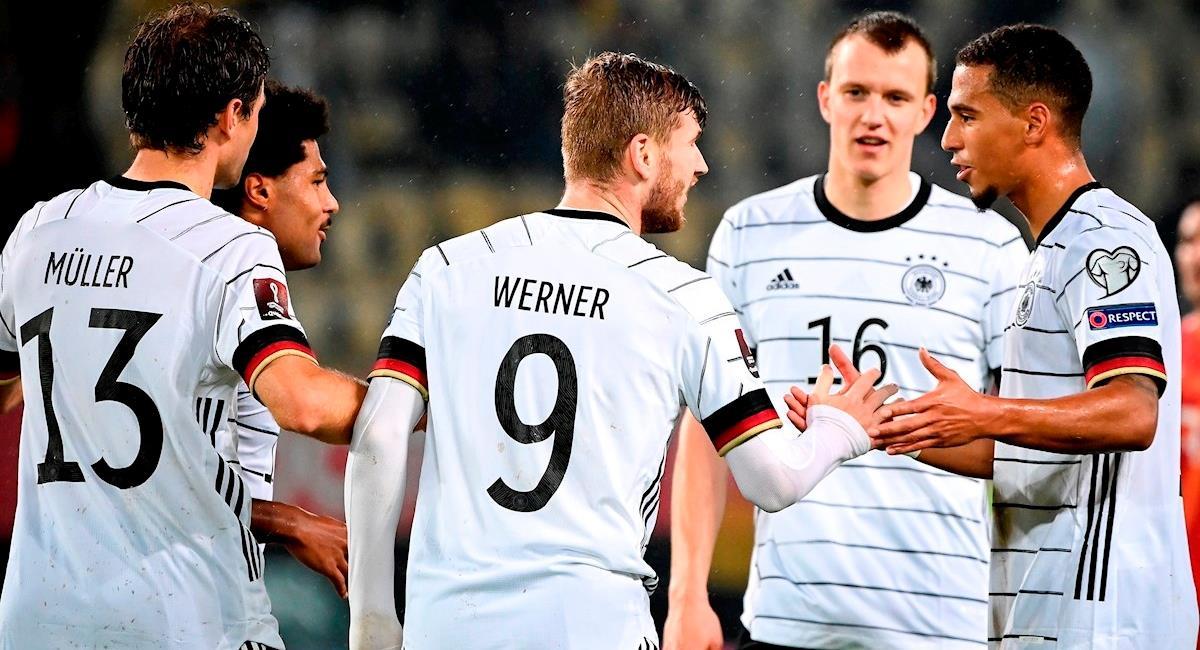 Alemania es la primer clasificada a Catar 2022. Foto: EFE