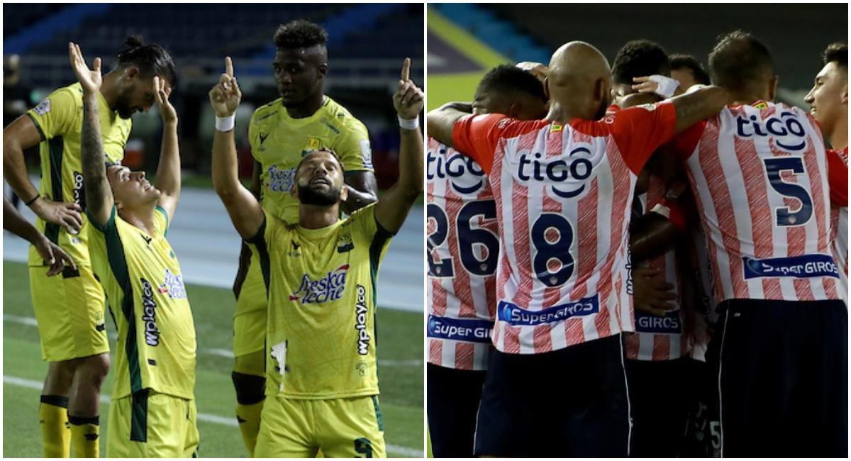 Sigue EN VIVO, GRATIS y con la mejor narranción, el juego entre Bucaramanga vs Junior. Foto: Youtube Dimayor