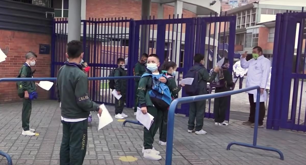 Matrículas colegios oficiales Bogotá 2022. Foto: Youtube Alcaldía de Bogotá