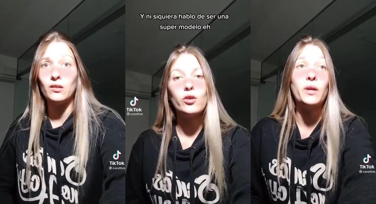 """Mujer comparte en redes los problemas que sufre """"por ser linda"""" y genera controversia. Foto: Twitter @l33b4ss"""