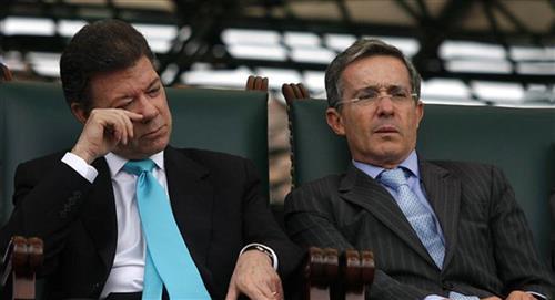 """""""Quiero estrechar la mano de Uribe, el país lo necesita"""": Santos"""