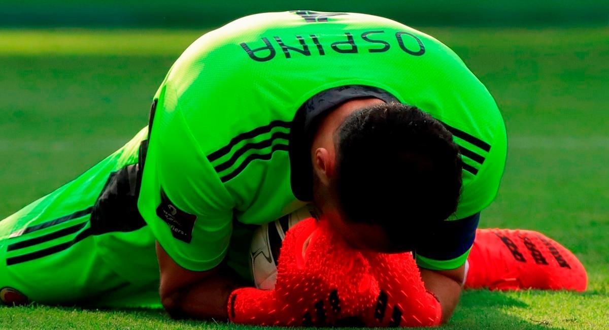 Hasta la FIFA reconoció a Ospina como el mejor ante Brasil. Foto: EFE