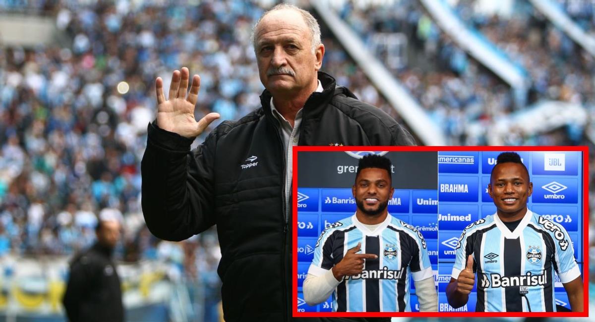 Luiz Felipe Scolari no es más entrenador de Gremio, Borja y Campaz sin técnico. Foto: Gremio