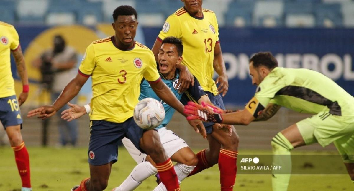 Pronóstico del juego Colombia vs Ecuador. Foto: AFP