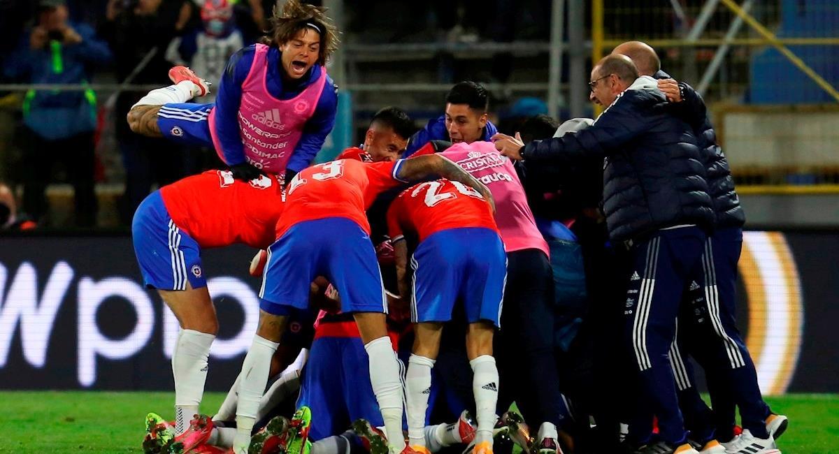 Chile resucitó frente a Paraguay y salió del fondo de la tabla. Foto: EFE