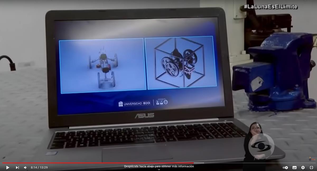 Los 25 jóvenes participantes, son de varias carreras de robótica y otras áreas. Foto: Youtube
