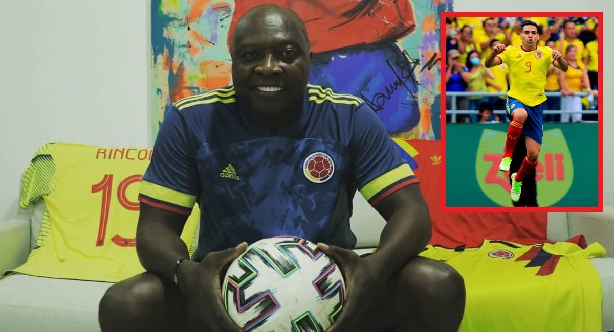 Freddy Rincón habló de la titularidad de Falcao en la Selección Colombia. Foto: Instagram Prensa redes Freddy Rincón.