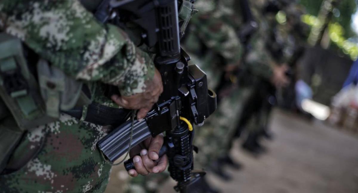 Ataque en Arauquita deja un militar muerto y otro herido. Foto: Twitter
