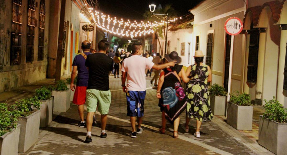 Las familias podrán hacer el recorrido por los espacios turísticos y emblemáticos de Valledupar. Foto: Twitter @SETPCValledupar ·