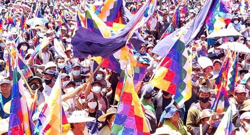 Presidente boliviano afronta su primer paro nacional con el apoyo popular