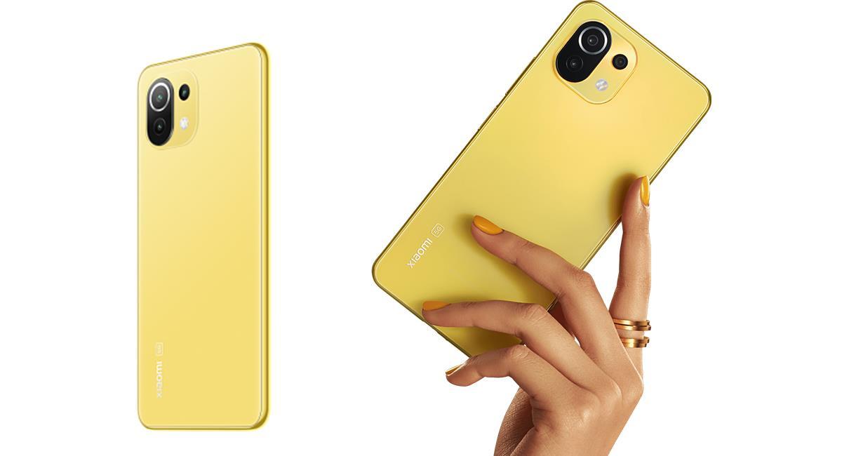 Este teléfono capta la atención de los usuarios para adaptarse al look colorido. Foto: Xiaomi