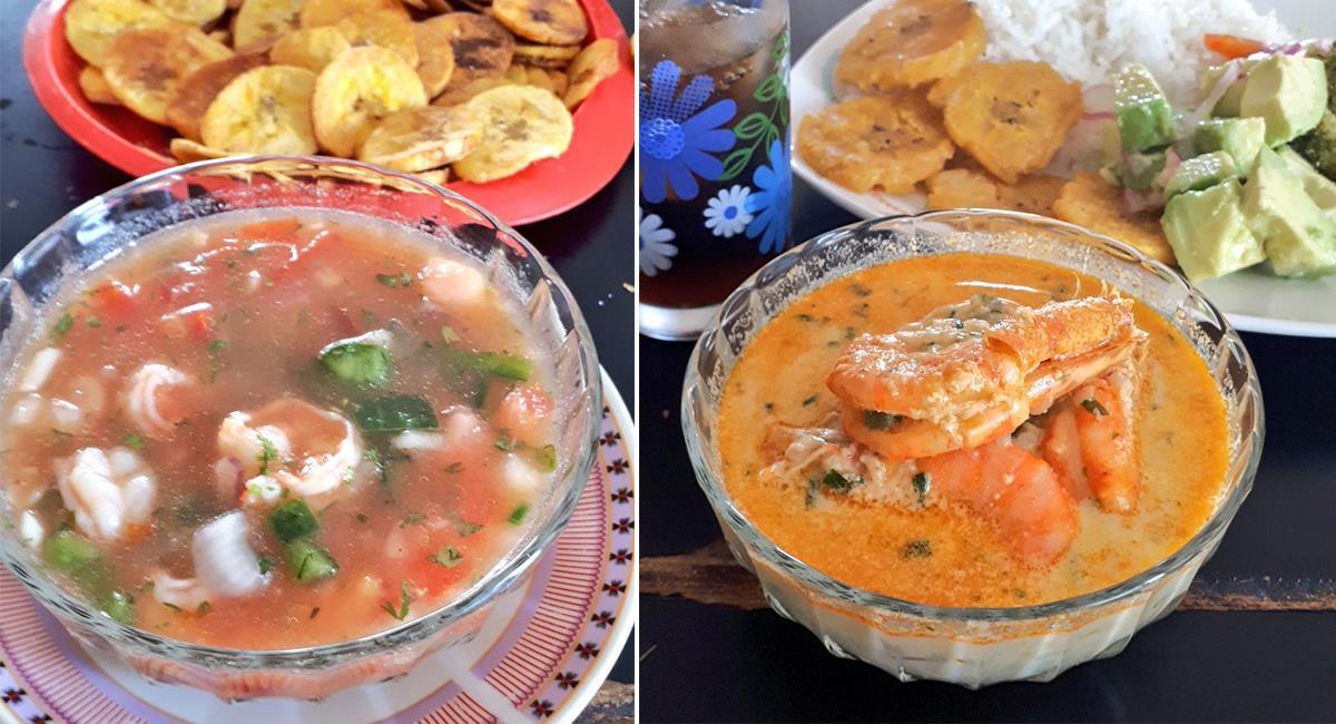Si viajas al Ecuador, no dejes de probar alguno de sus platos típicos. ¡Son una delicia!. Foto: Twitter @HPerezName