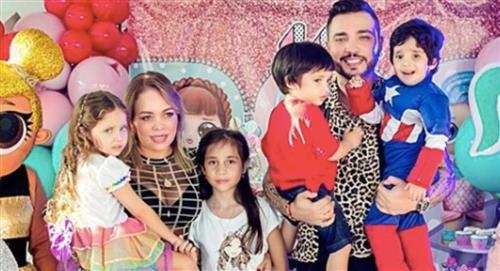 """Por """"un accidente con una tijera"""" tuvieron que dejar calvo a hijo de Jessi Uribe"""