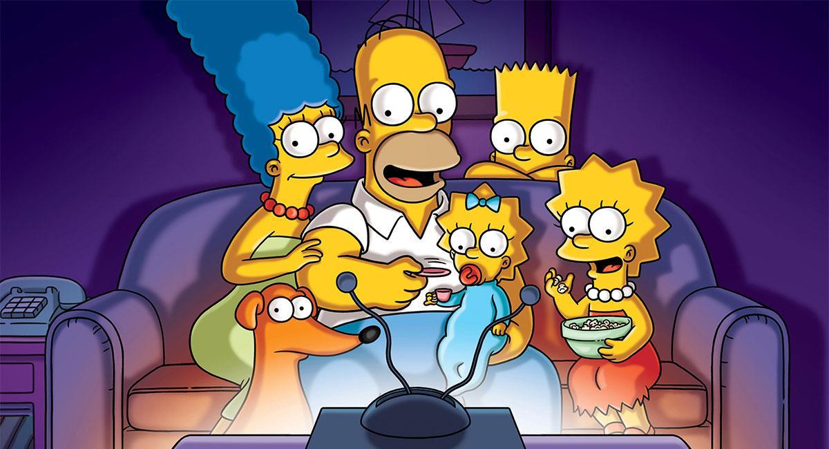 """""""Los Simpson"""" es una de las series más famosas del mundo. Foto: Twitter @TheSimpsons"""