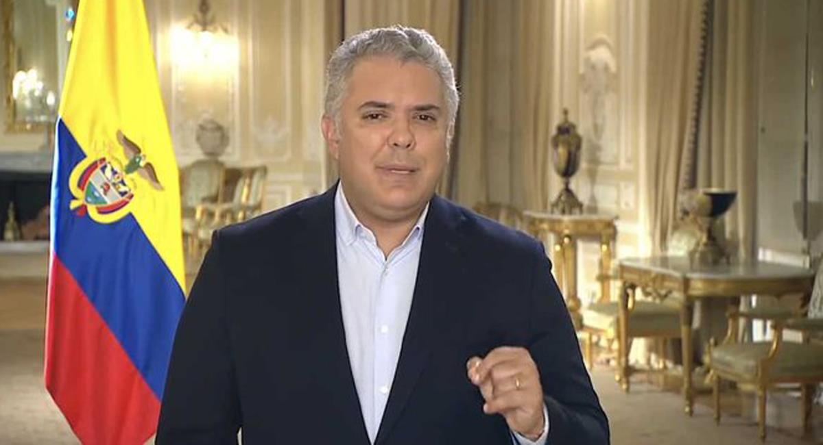 Iván Duque Márquez insiste en la formalización de las clases presenciales en Colombia. Foto: Twitter @RevistaSemana