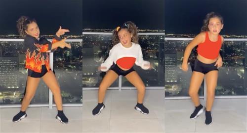 Hija de James Rodríguez armó tremenda coreografía y bailó como profesional