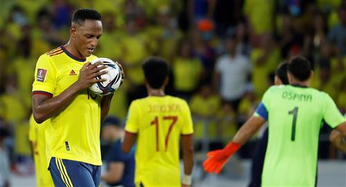 Una mano legítima, o estuvo mal anulado el gol de Yerry Mina, esto dice la norma
