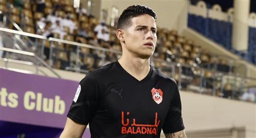 James Rodríguez se pronunció luego de su debut con el Al Rayyan de Catar