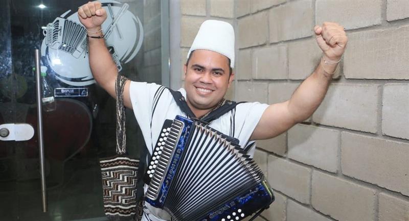 El acordeonero arhuaco que se convirtió en el nuevo Rey Vallenato