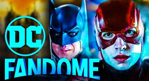 """""""The Batman"""", """"The Flash"""" y """"Black Adam"""" protagonistas de la DC Fandome"""