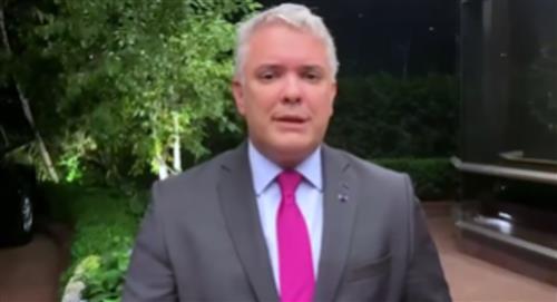 """Duque dice que no reconocerá una """"dictadura corrupta y narcotraficante"""" como la de Venezuela"""