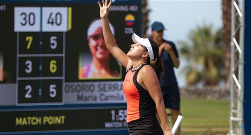Imparable: Camila Osorio consiguió su segundo triunfo consecutivo en el Tenerife Ladies Open