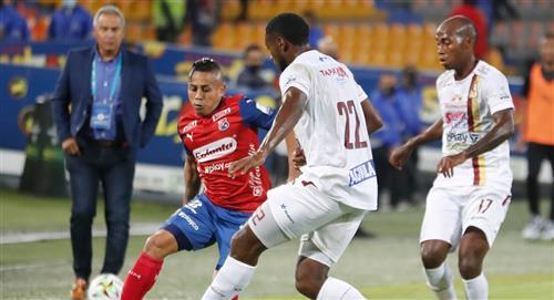 Resultado del compromiso entre Independiente Medellín vs Deportes Tolima