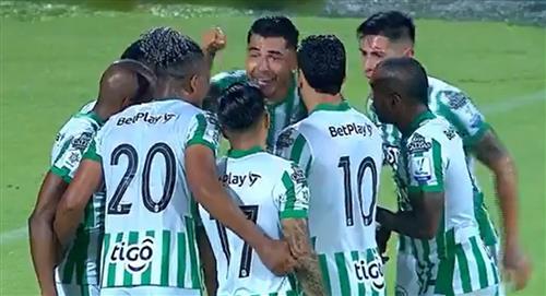 Liga BetPlay 2021 Atlético Nacional Once Caldas resumen partido Atlético Nacional se afianza en el liderato venciendo a Once Caldas